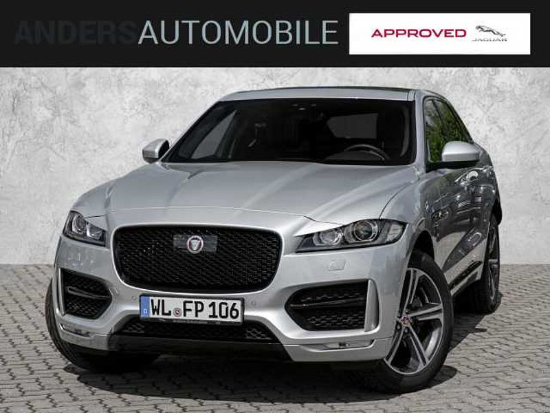 Jaguar F-Pace 25d AWD BlackPack, Panoramaschiebedach, 2